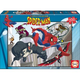 Puzzle 200 Spectacular Spideman