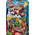 2 puzzles 48 Super Hero Squad
