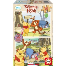 16 Winnie the pooh Educa