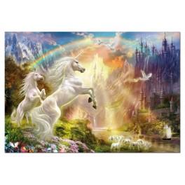 Puzzle Unicornios al atardeceer 500 Educa