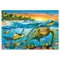 Puzzle Tortugas marinas 500 Educa