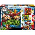 Puzzle Progresivo Super Hero Squad