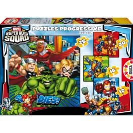 Puzzle Progresivo Super Hero Squad