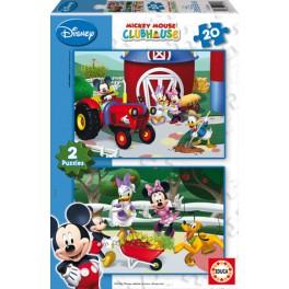 20 Mickey tiene una granja Educa