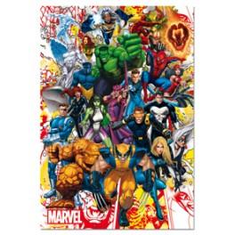 500 Marvel Heroes Educa