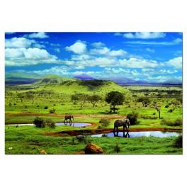 Puzzle Parque nacional Tsavo Kenia 500 Educa