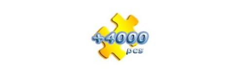 Puzzles 4000 y más piezas Educa